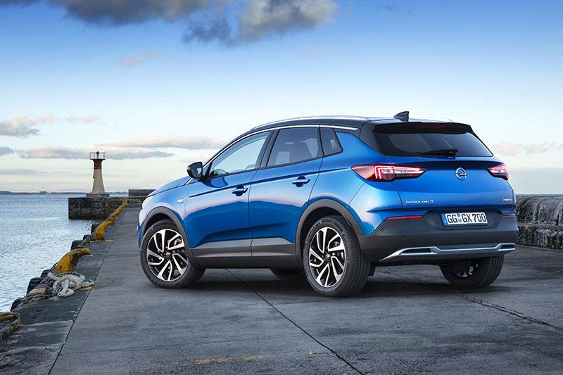 Opel Grandland X afbeelding achterzijde