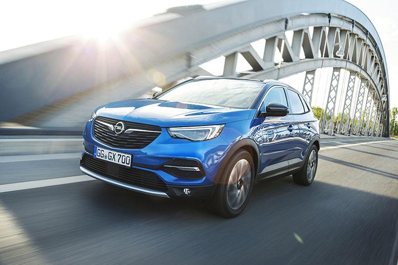 Opel Grandland X afbeelding voorzijde