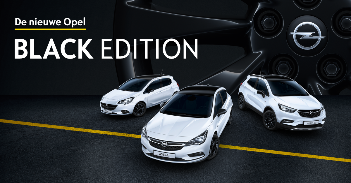 opel black editions