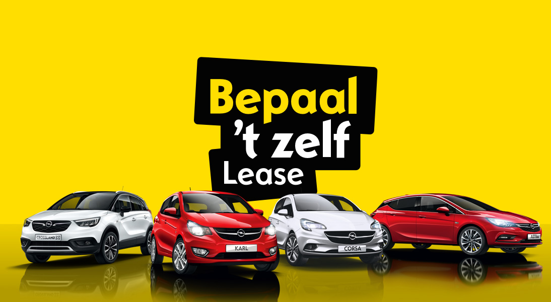 opel private lease actiebanner
